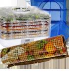 Электрические сушилки для овощей, фруктов и продуктов